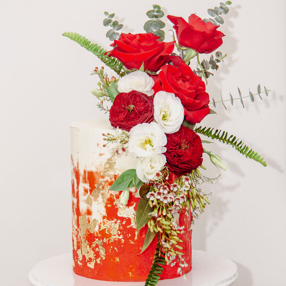 70-Red-floral
